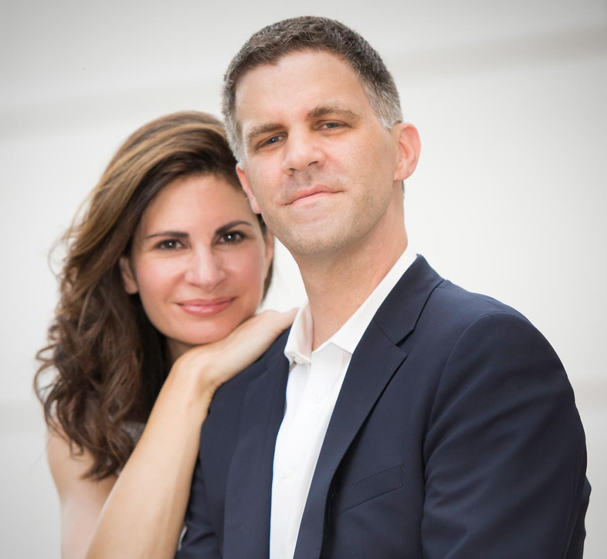 Marina Lomazov and Joseph Rackers